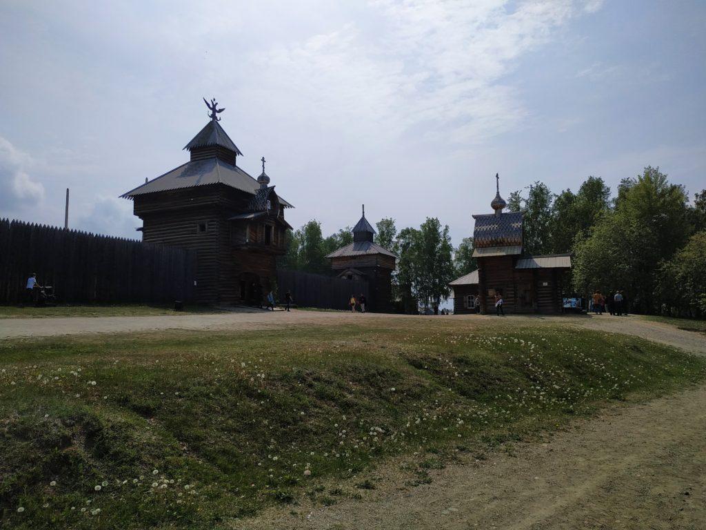 «Тальцы» — архитектурно-этнографический музей. Иркутск(как бы).