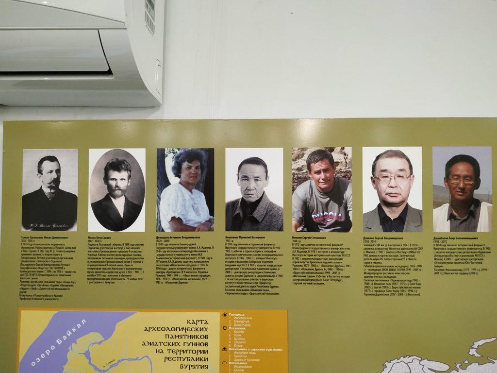 Исследователи, занимавшиеся изучением культуры Хунну.