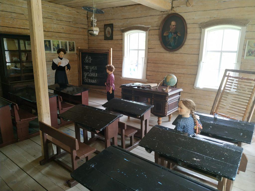 Школа в музее Тальцы