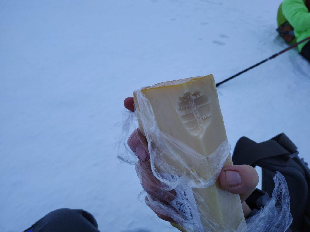 Завтрак на льду Байкала