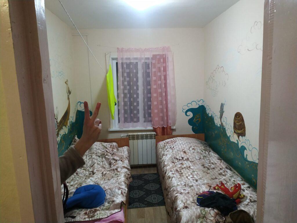 домик на умхее спальня