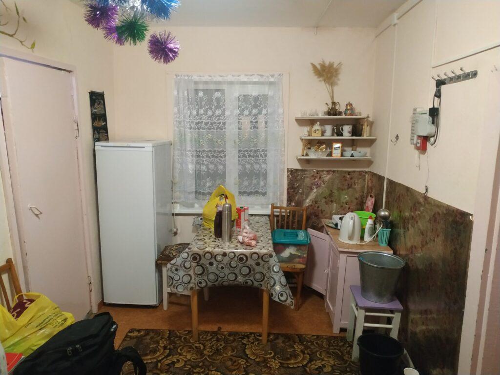 Кухня(она же - прихожая)