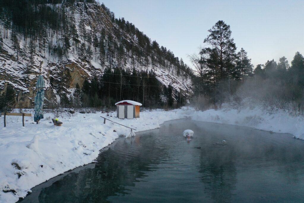 Озеро на Умхее