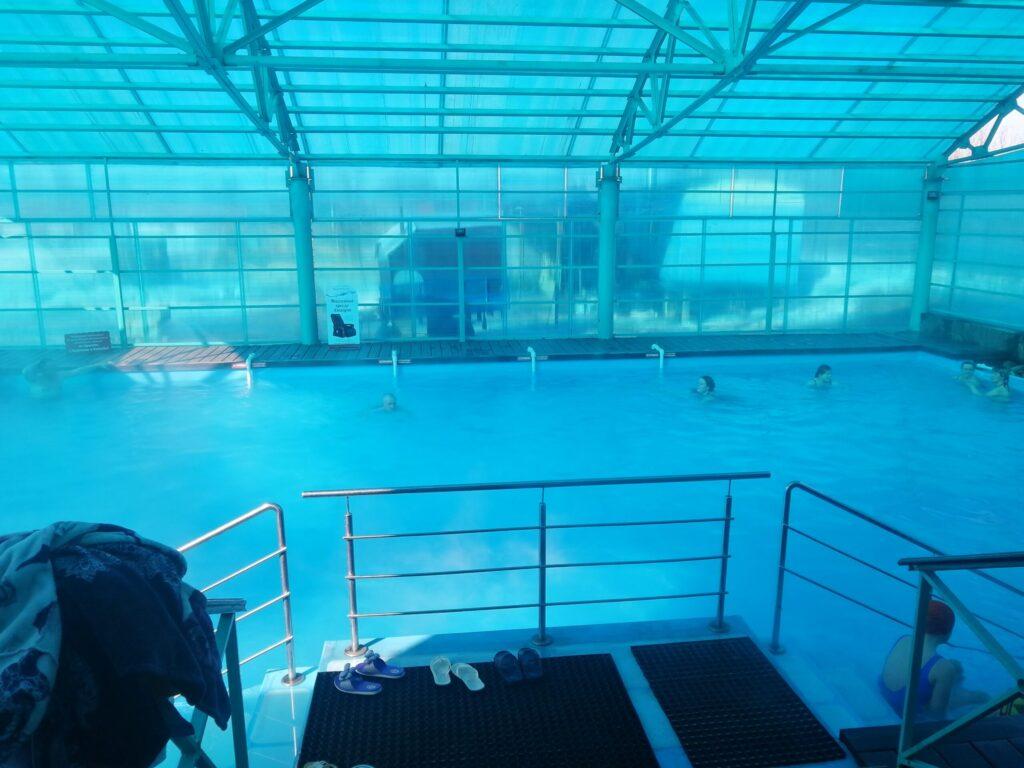 Горячий бассейн в Ильинке