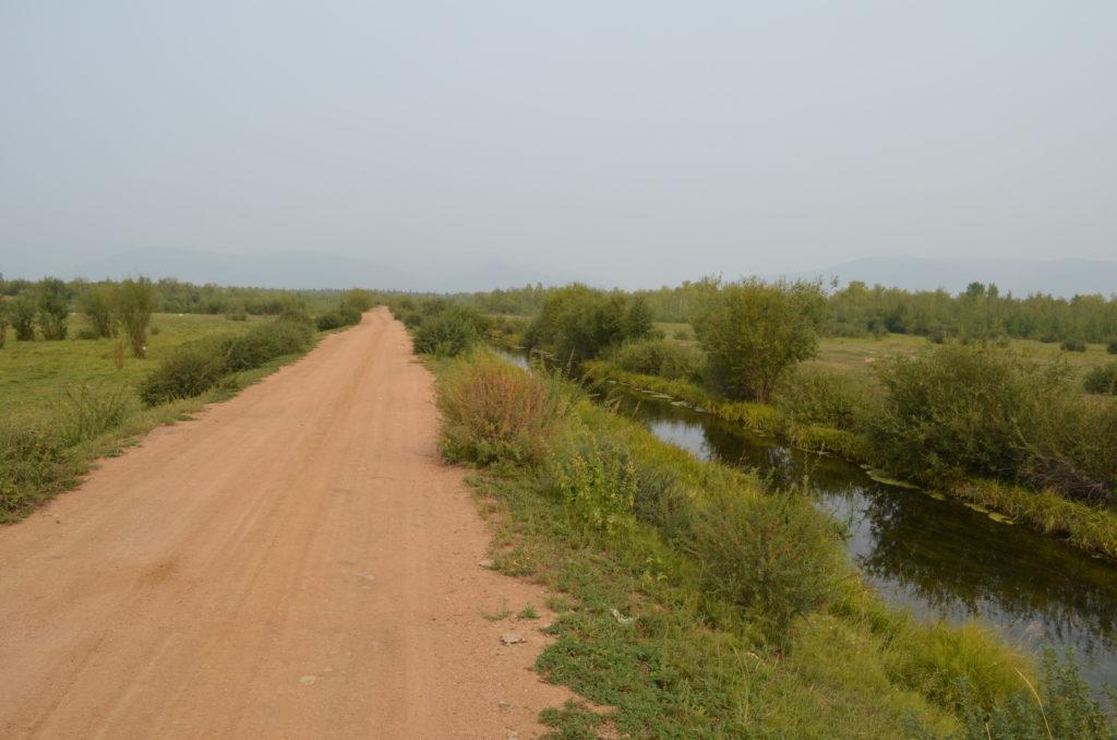 Дорога и канал