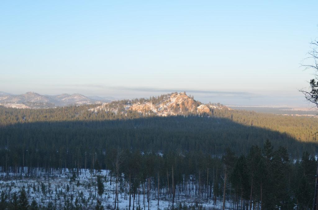 Варварина гора (г. Шаманка, Шаман-гора, скала Страшная)