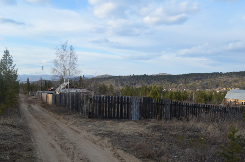 Окраина поселка Забайкальский