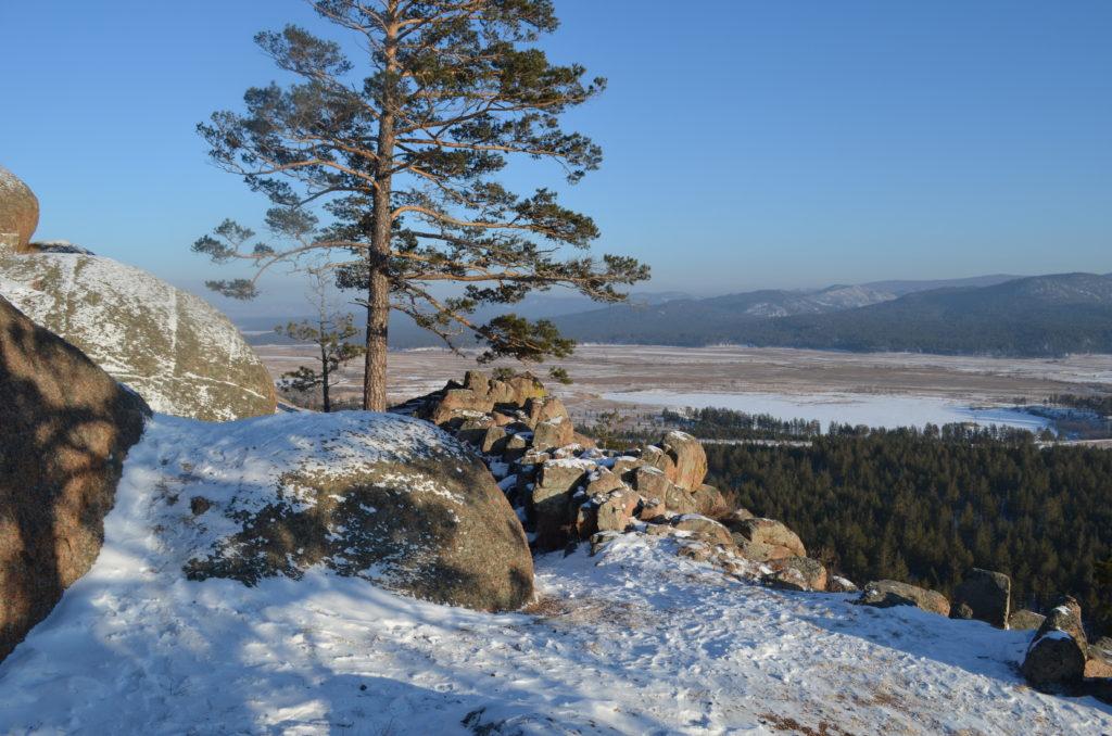 Вид с вершины Варвариной горы