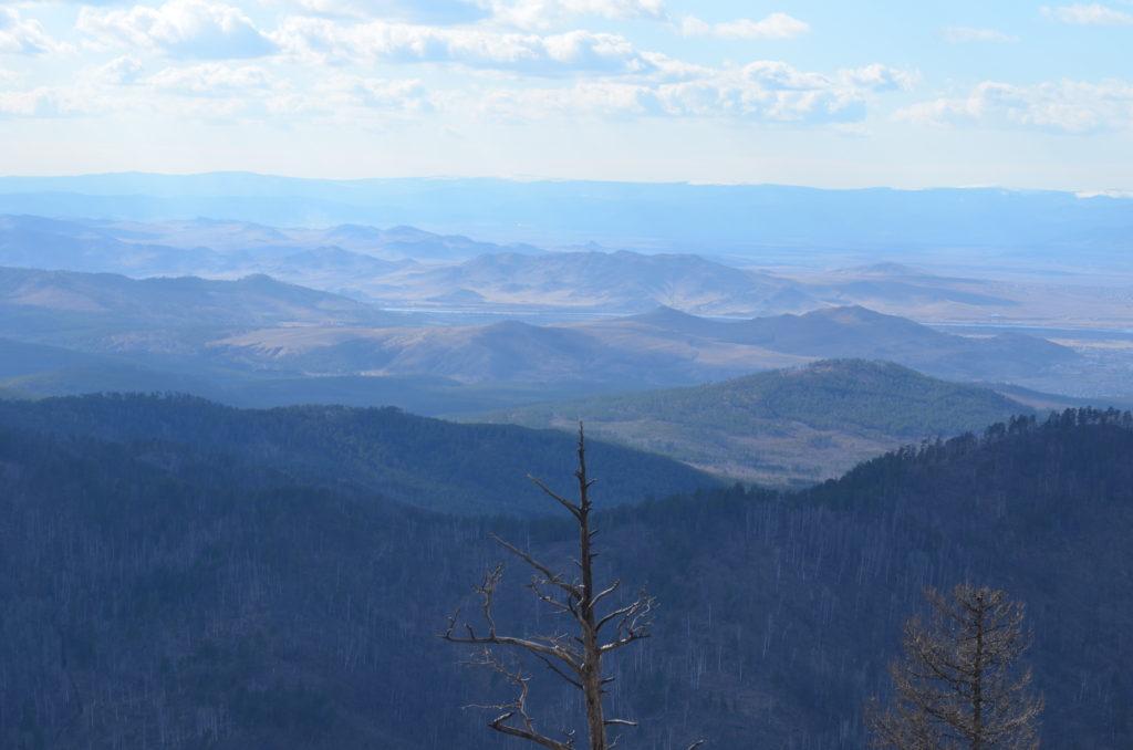 Долина Селенги с Синей Саянтуйской